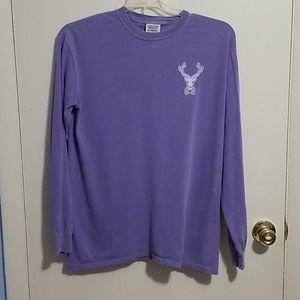 Jadelynn Brooke Purple and White M Shirt